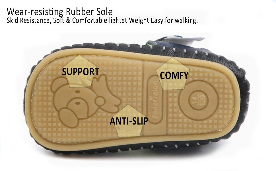 Anti-slip infant 0-6-9-12-18-24 months baby walking sandals