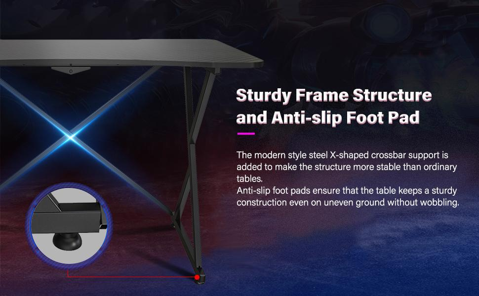 sturdy frame structure