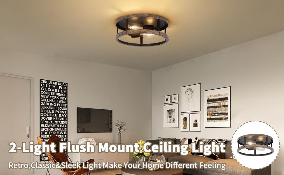 Drum Lantern Ceiling Lights