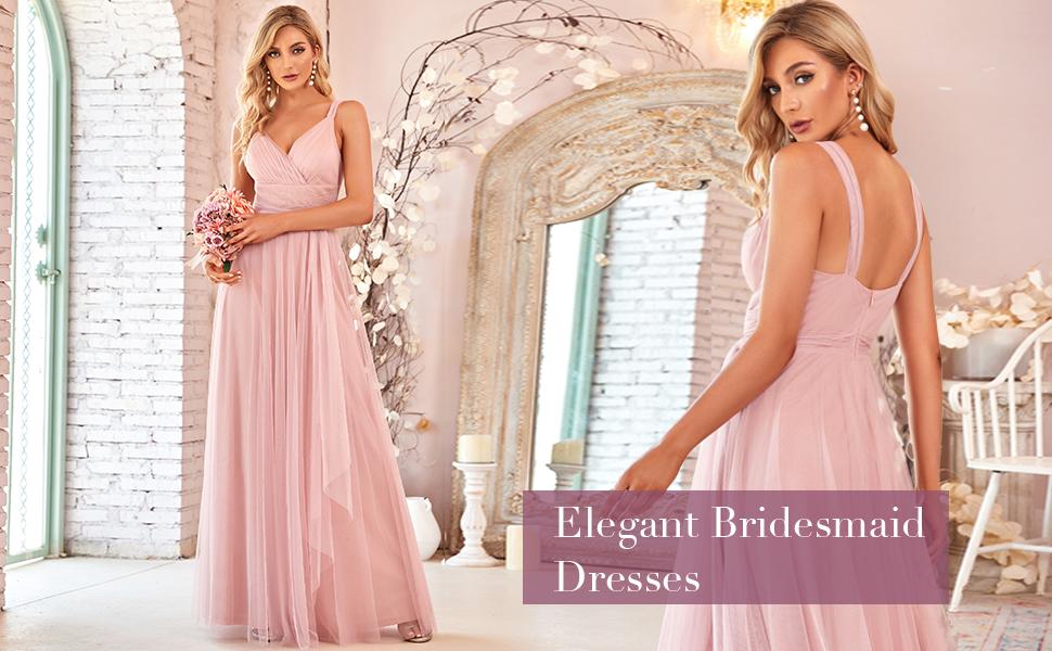Ever-Pretty womens bridesmaid dresses beach dresses wedding guest dresses for women dance dresses
