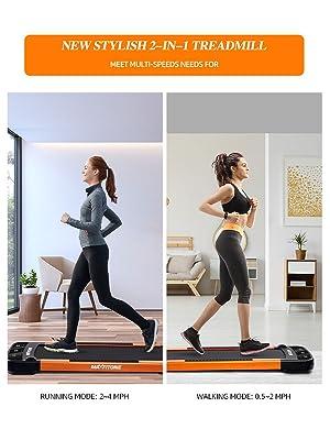 2-in-1 treadmill