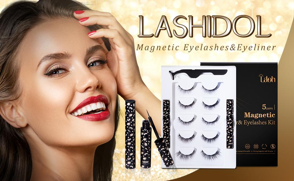 Lashido Magnetic Eyelashes&Eyeliner