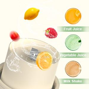 Portable Rechargeable USB Personal Blender One-handed Mini Blender for Shakes and Smoothies