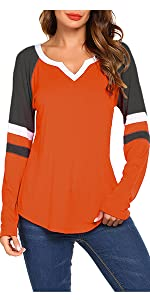 baseball shirt women