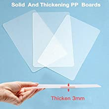 Solid PP boards