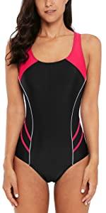 Women Athletic Bathing Suits