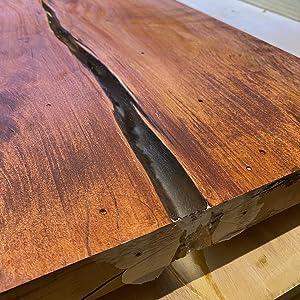Wood Slab Sealing Project