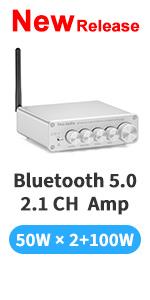 Fosi Audio BT30D-S Bluetooth Amplifier