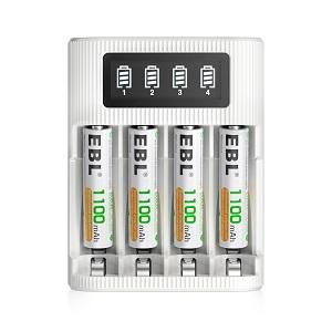 aaa batteries with charger