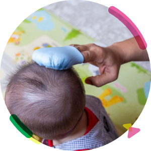 Massages and Clear Cradle Cap