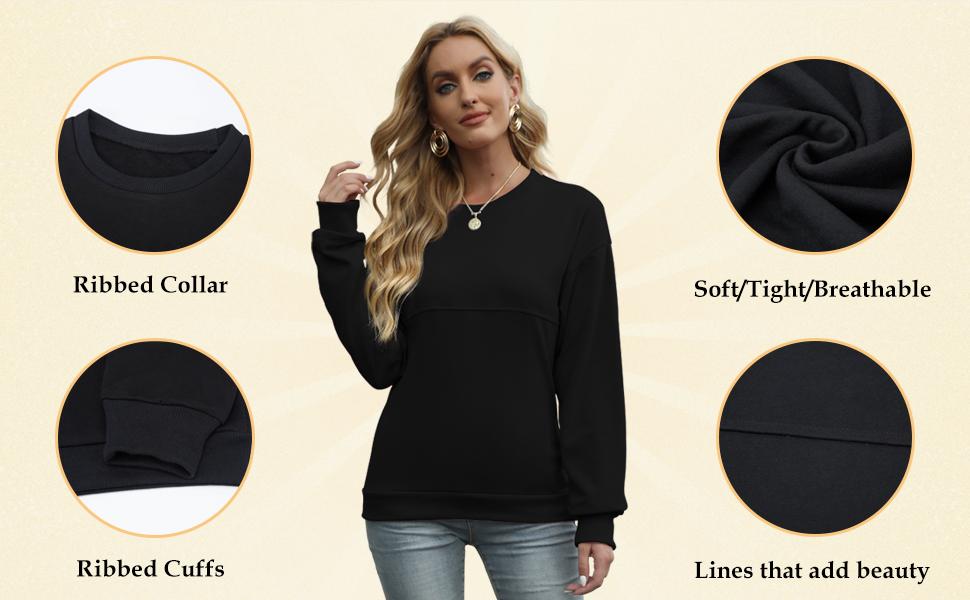 womens pullover sweatshirt crew sweatshirt womens