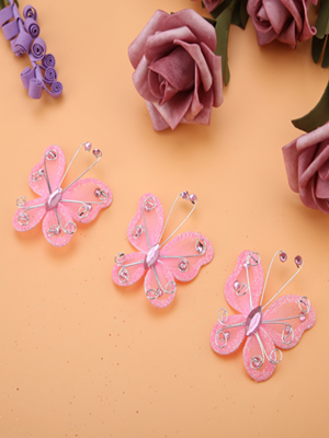 Christmas Butterfly Ornaments