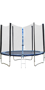 10 ft Trampoline with Net