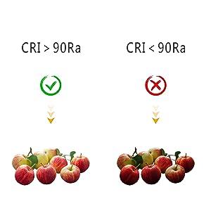 CRI>90