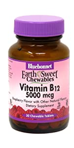 Earthsweet Chewables Vitamin B12 5000 mcg