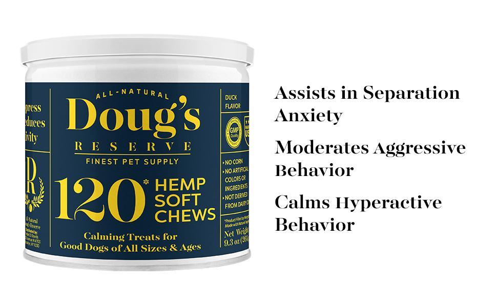 Doug's Reserve Calming Supplement Chews