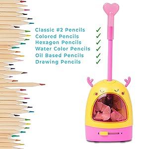 electric pencil sharpener for kids