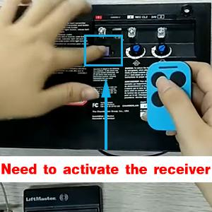 need to active the receiver after copy successful
