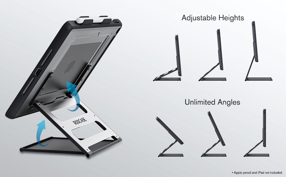iPad Case with Built in Stand