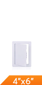 Plumbing Access Panel for Drywall Ceiling inch Removable Hinged Access Door Reinforced Hinged Panel
