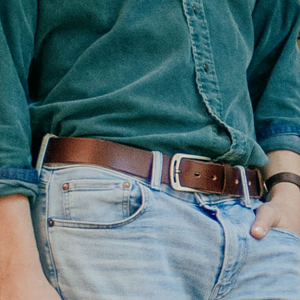 Belts with jeans