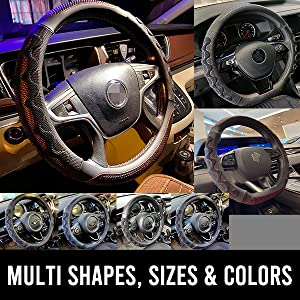 multi shapes, sizes, colors