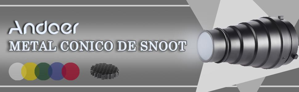 METAL CONICO DE SNOOT