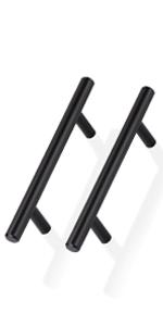 t bar cabinet handles matte black