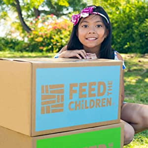 Proudly Supports Feed the Children