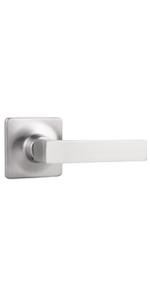 Brushed Nickel Interior Door Handles