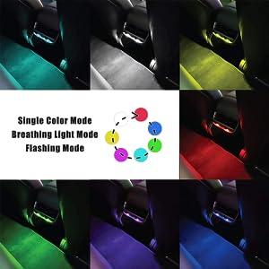 mini usb led light night light have many modes