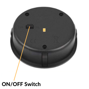 """Turn Switch To """"ON"""" Position Before Using Your Decorative Solar Lantern"""