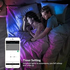 timer wake up light