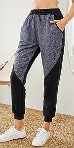 Pantaloni della tuta con pannelli