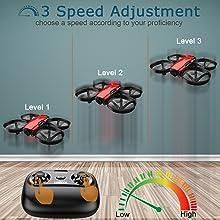 3 speed adjustment