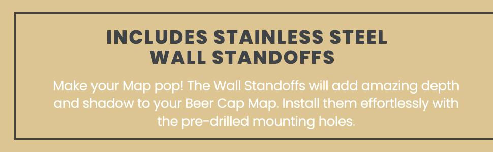 Stainless Steel Wall Standoffs