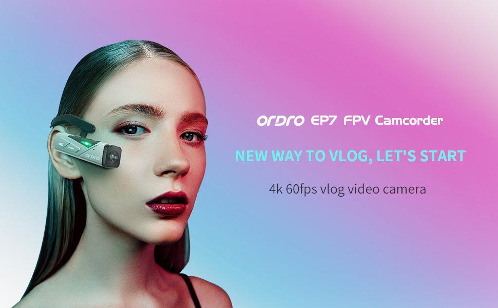 ep7 head mount wearable camera