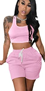 Womens 2 Piece Outfits Jumpsuits