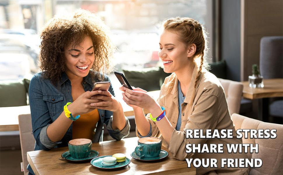 RELEASE STRESS SHARE WITH  YOUR FRIEND