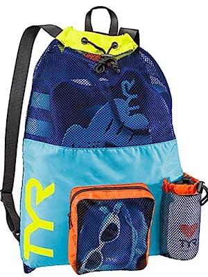 TYR, TYR sport, swim mesh bag, swimming bag, tyr mesh bag, swimming, triathlon swim, tyr bag
