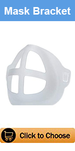 Oceantree Mask Bracket for DIY Cloth Face Mask Accessories Cool Breathing Smoothly 5PCS Adult