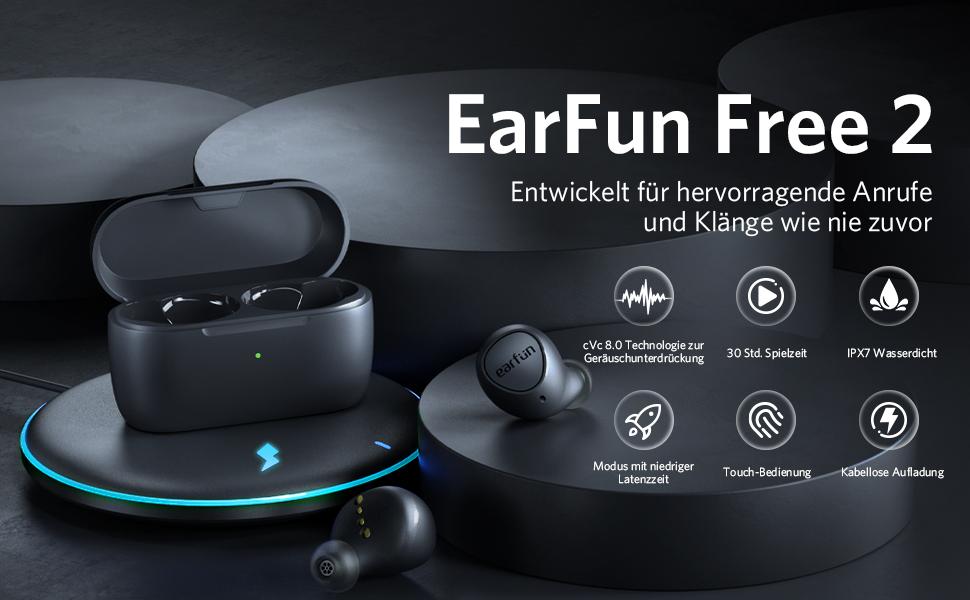 Bluetooth Kopfhörer EarFun Free 2