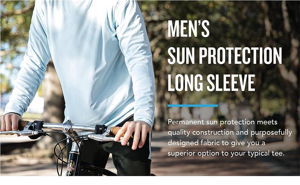 men's sun protection long sleeve