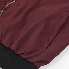 spring fall military flight jacket casual slim fit thin windbreakers coat