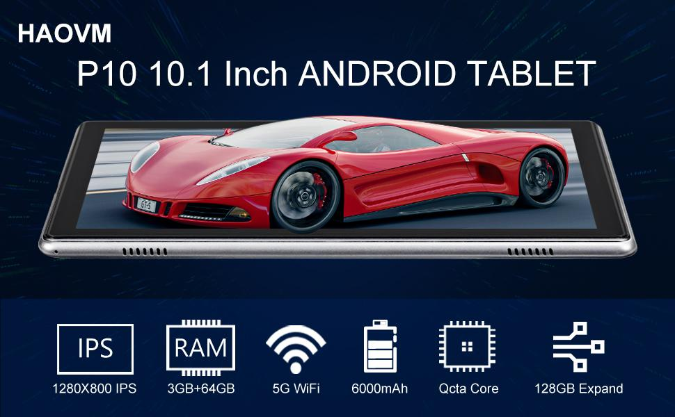 P10 10.1 Inch ANDROID TABLET