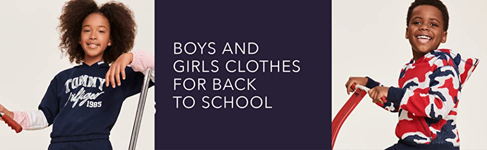 Boys and Girls Clothes for Back to School