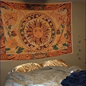 Burning Sun Tapestry
