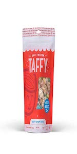 Taffy Shop Create a 1 pound bag of Assorted Saltwater Taffy Choose up to 3 Flavors