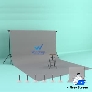 grey screen background youtube videos photography