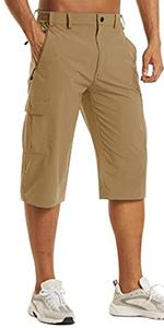 male shorts mens capris pants below knee shorts men cargo shorts below knee work pants